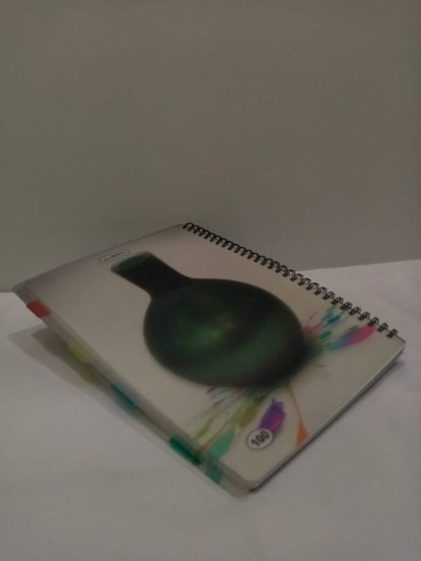 دفتر روكو عربي سلك مقسم 100ورقة كبير